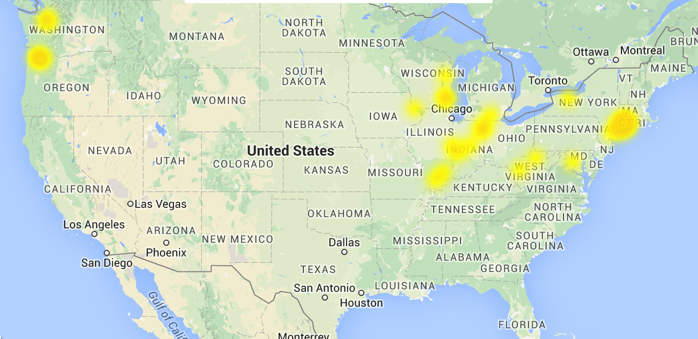 Dakota Electric Power Outage Map.Dpl Outage Map